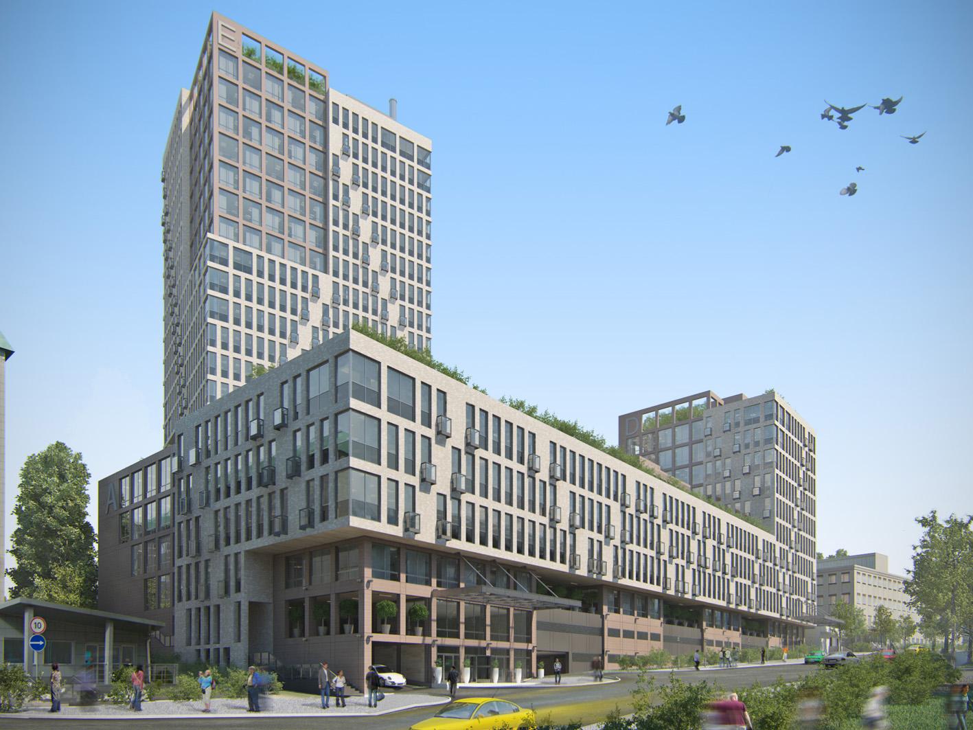 Business Center on Sholudenko str., Kyiv