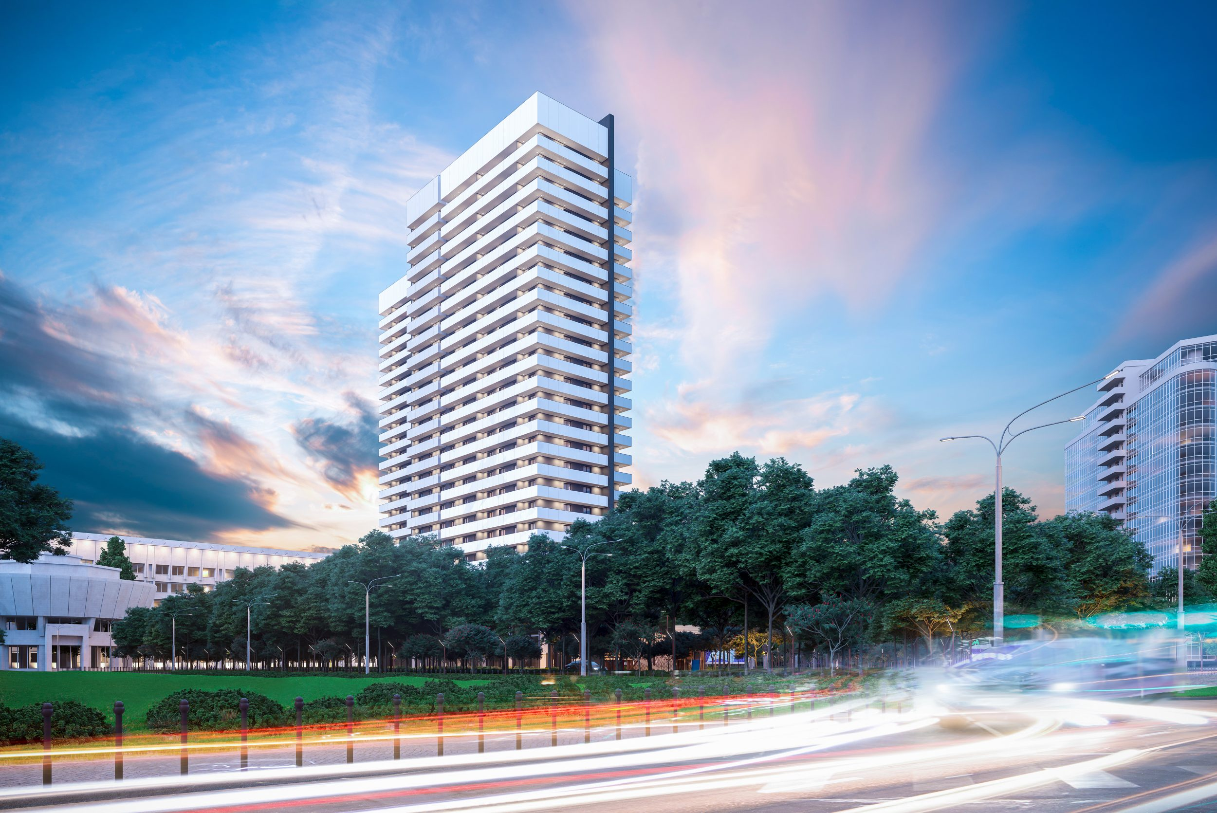 "First rental apartments building of network project ""STANDARD ONE"" on Vasylkivska str."