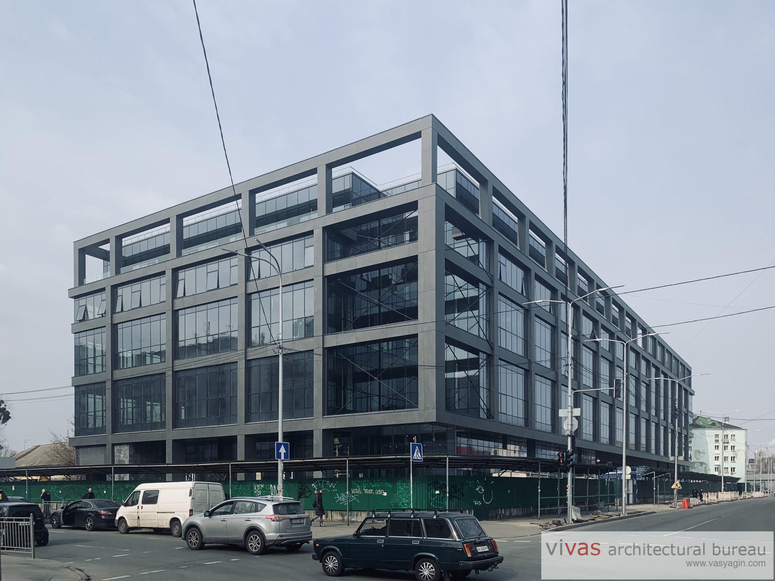 The Business center ТАС on Podil, Kyiv