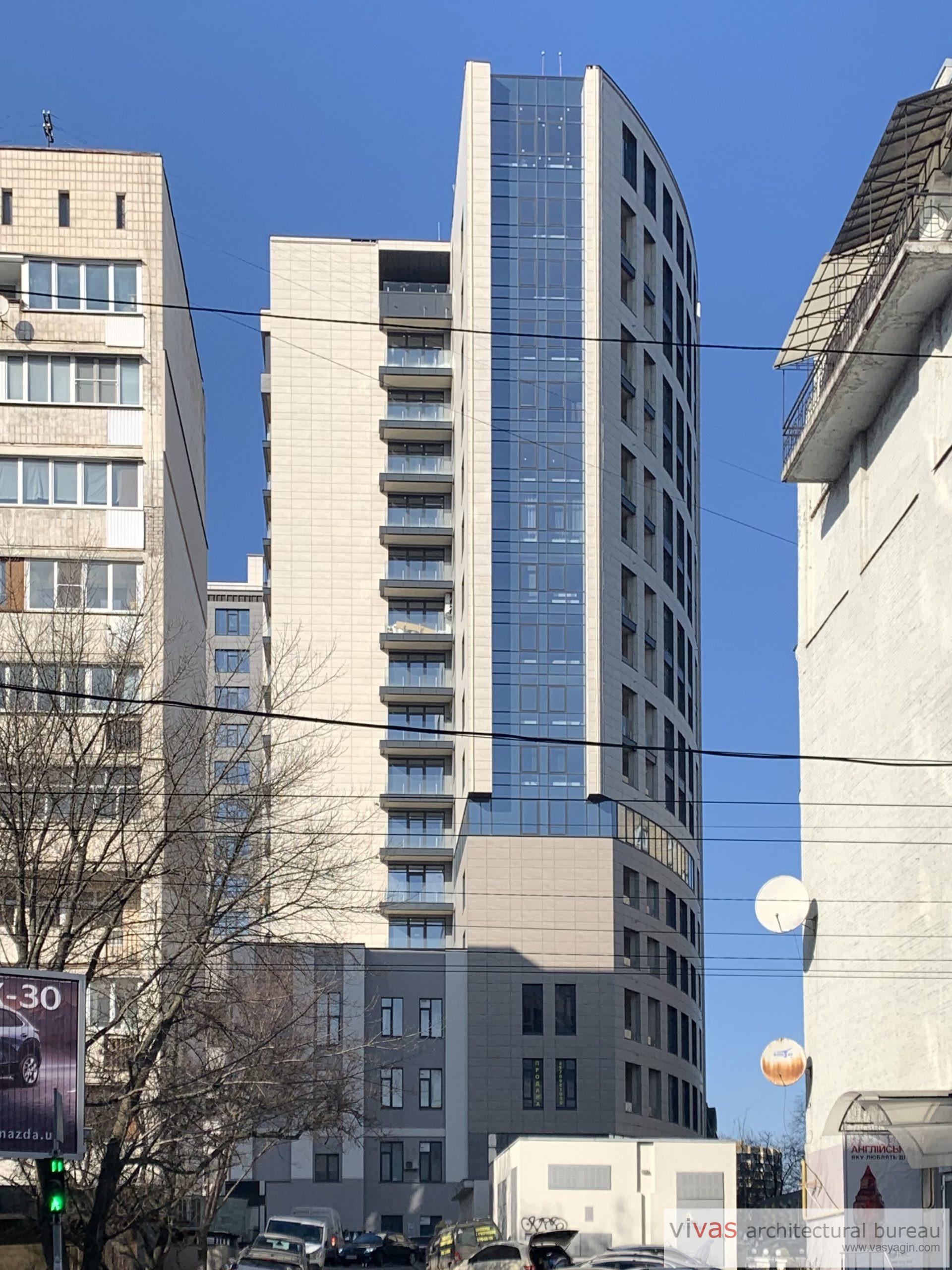 Residential building A52 on Sichovyh Striltsiv str., Kyiv